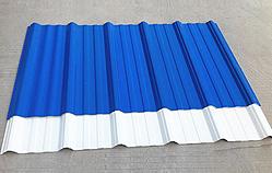 Tôle de toiture   <small>(couverture en tôle ondulée en PVC) </small>